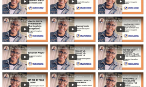 Access to Full Evangelism Video Training Resource Library